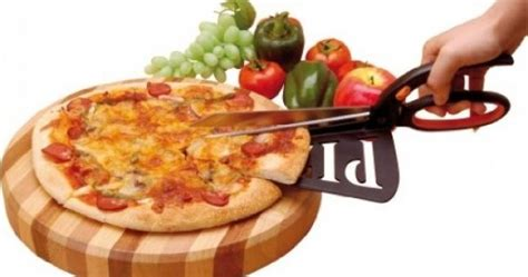 Pizza Scissors With Spatula Gunting Penggunting Pizza easygoing gadget pizza scissors spatula joe ie