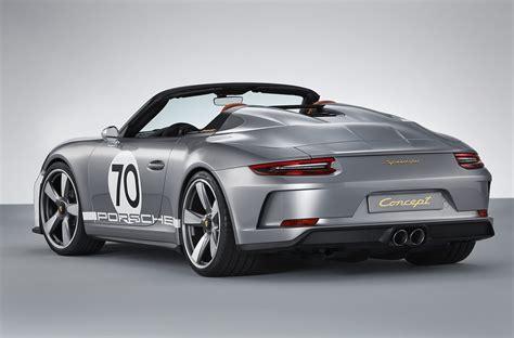 porsche speedster porsche 911 speedster concept specs prices