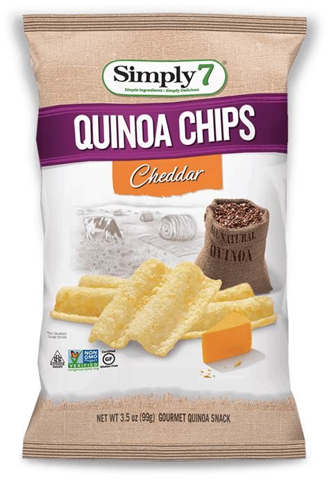 Simply7 Lentil Chips White Cheddar cheddar quinoa chips simply 7 snackssimply 7 snacks