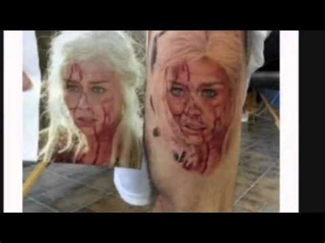 tattoo removal gone wrong shocking tattoos tattoos wrong