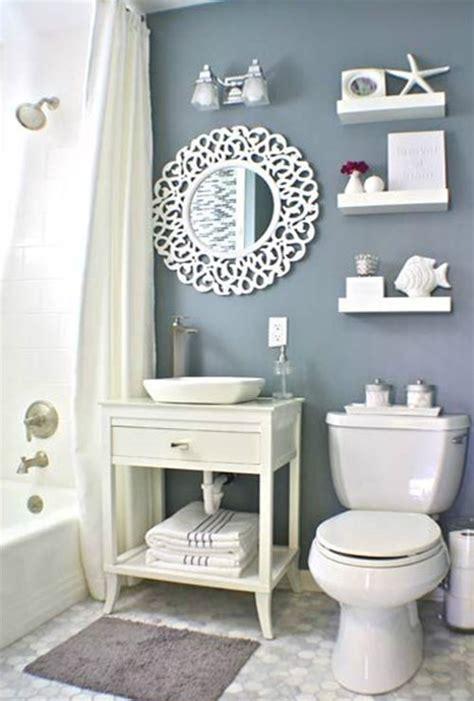blue light bathroom creatively transform your small bathroom