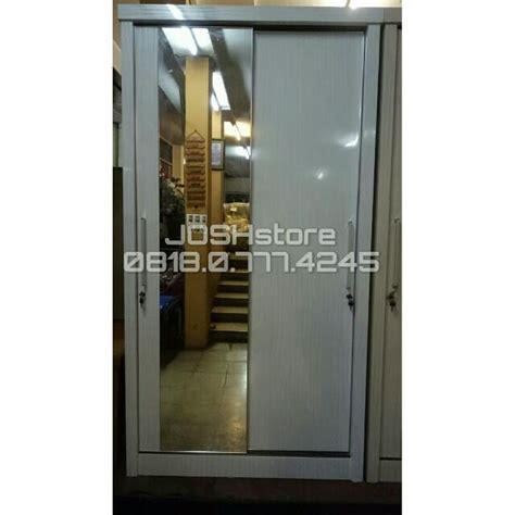 Lemari Pakaian 3 Pintu Polos Panel lemari pakaian 2 pintu hpl polos wardrobe perabotan