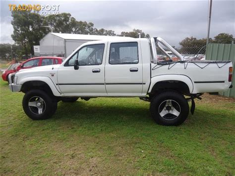 1994 Toyota 4x4 For Sale 1994 Toyota Hilux Sr5 4x4 Rn106r Dual Cab P Up For Sale