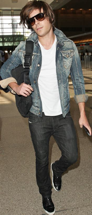 Zac Efron Wardrobe by His Style Zac Efron