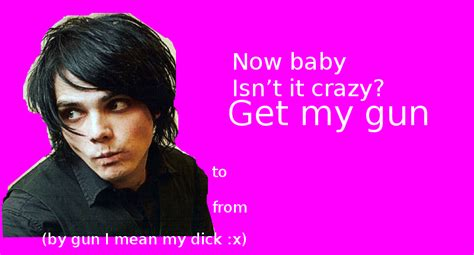 my chemical valentines cards bands valentines