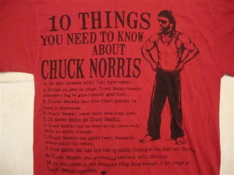 Facts you need to know about chuck norris top ten things list funny t shirt l t shirts tank tops