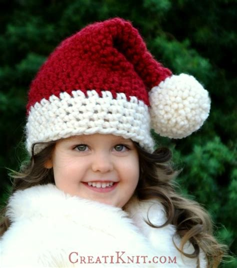 santa hat for babies creatiknit the santa hat free knitting pattern