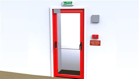 controllo apertura porte dispositivo di blocco porte d emergenza