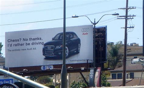 Port Road Car And Commercial by The Historic Bmw Vs Audi Billboard Ad War In Pictures