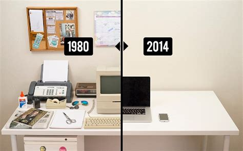At The Office Desk by The Evolution Of Your Office Desk Future Of Our Desks