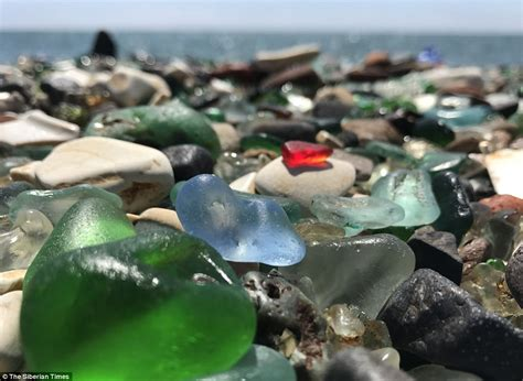 glass beach russia russia s amazing kaleidoscope glass beach might vanish