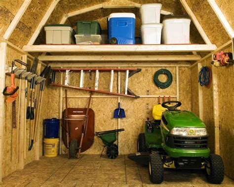 Organizing A Storage Shed by Get It Done Overhaul And Organize Your Garden Shed