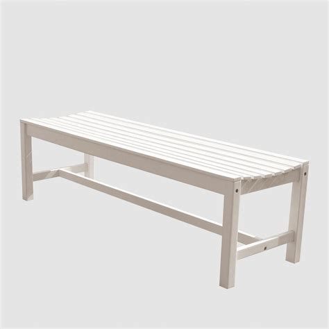 vifah designer garden patio bench v188 the home depot
