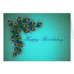 peacock happy birthday gifts on zazzle