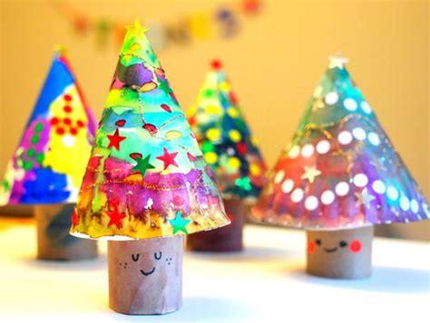 3d christmas tree crafts for kids allfreechristmascrafts com
