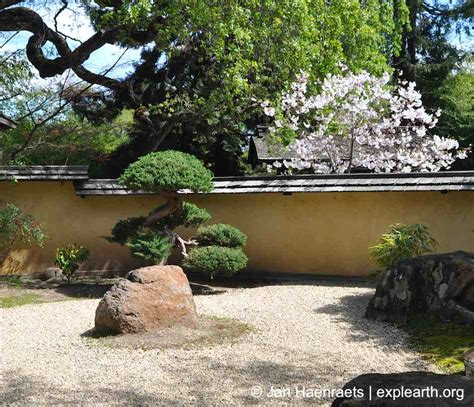 Saratoga Japanese Garden by Cherry Blossoms In San Francisco Hakone Gardens And The