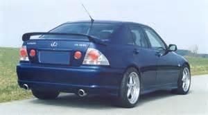 99 05 lexus is200 is300 complete rear door driver rear o s