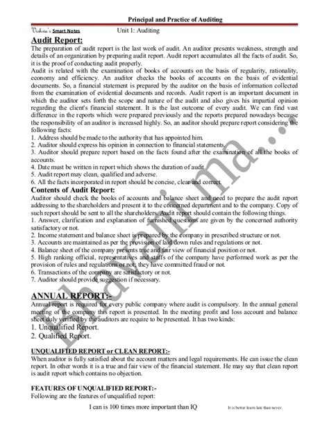 sle unqualified audit report qualified audit report sle 28 images procurement of