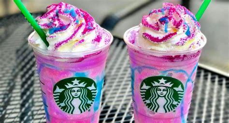 Starbucks dévoile un frappuccino pour les amoureux des licornes