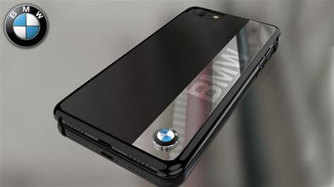 bmw apple iphone   official  touring  power leather chrome case limited edition