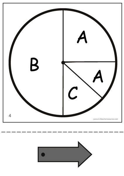probability spinners k 3 resources