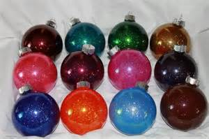 sparkly christmas ornaments the crafty blog stalker