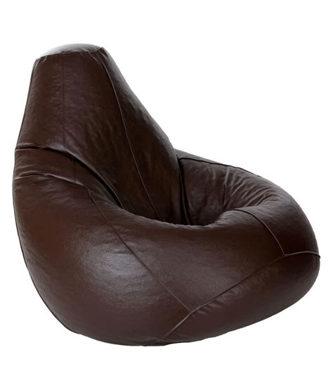 Bean Bag In Bean Bag With Beans In Brown Xl Buy At Best Price