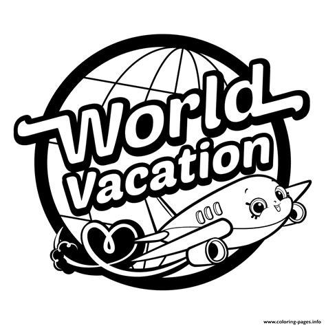 shopkins logo coloring page shopkins world vacation logo season 8 coloring pages printable