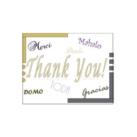 mahalo card template thank you postcards free templates for microsoft publisher