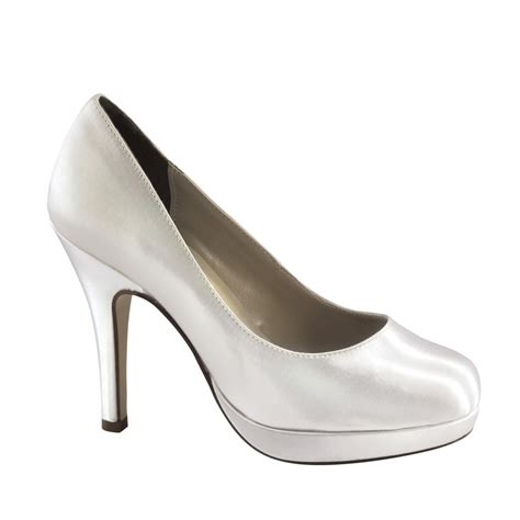 dyeable touch ups shoes sammi in white bridal evening prom