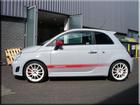 abarth 500 side stripes vinyl creations