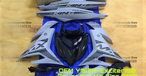 Spare Part Yamaha Mx King ch motorcycle store oem y15zr cover set mx king 2017 matt