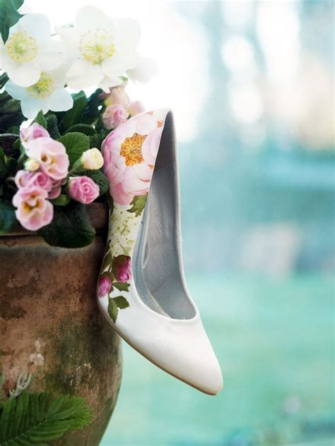 Flower Wedding Shoes by 32 Floral Wedding Shoes Ideas For And Summer