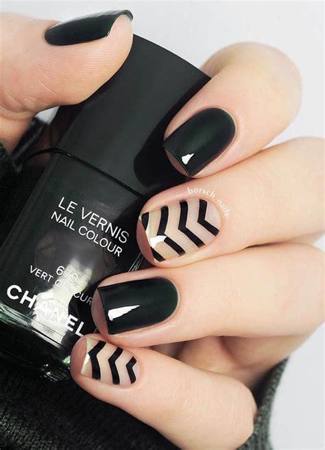 top  pretty dark gel nail art designs trendy fashonails