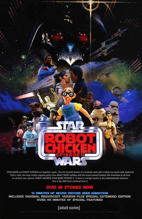 Film Robot Chicken | robot chicken star wars movie posters from movie poster shop