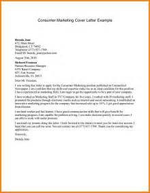 Cover Letter Exle Marketing 10 a sle of application for director position