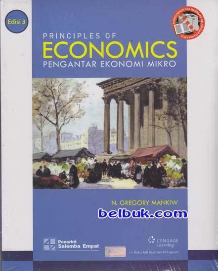 Buku Pengantar Ilmu Pajak pengantar ekonomi mikro edisi 3 n gregory mankiw