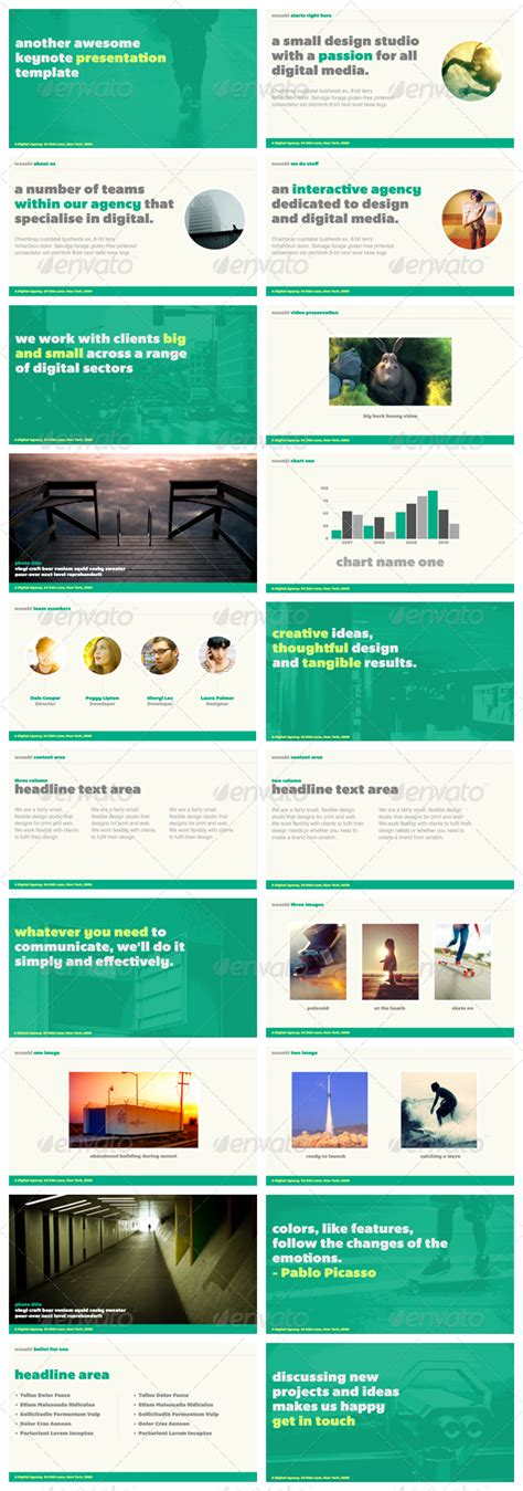 keynote presentation templates wasabi keynote presentation template graphicriver