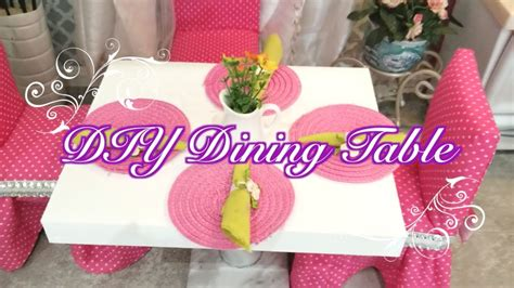 doll dining table diy doll dining table