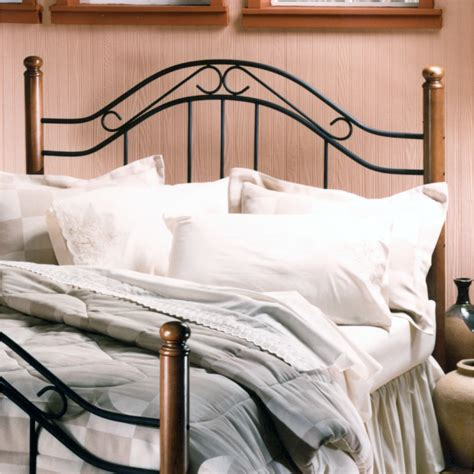 Wood And Metal Headboards by August Grove Richardton Wood And Metal Headboard Reviews