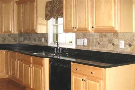 kitchen backsplash ideas with black granite countertops 25 best ideas about black granite countertops on