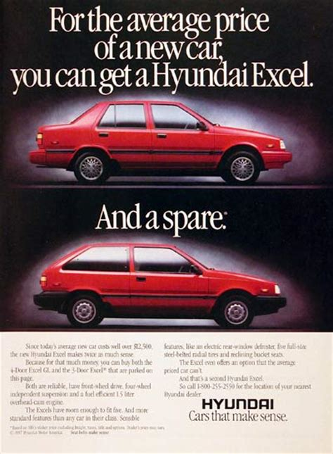 hyundai excel 2010 hyundai 1986 excel advertisement the about cars
