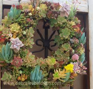 pin by debra lee baldwin on succulent wreaths and