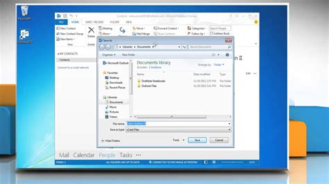 how to make v card how to create a vcard in microsoft 174 outlook 2013