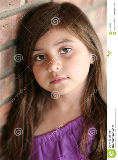 little girl mexican model close up of hispanic little girl royalty free stock photos