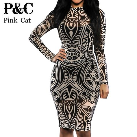 cheap tribal tattoos buy wholesale tribal bodycon dress from china