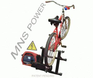 Dinamo Blender Nasional bicycle generator systems pedal power energy made simple