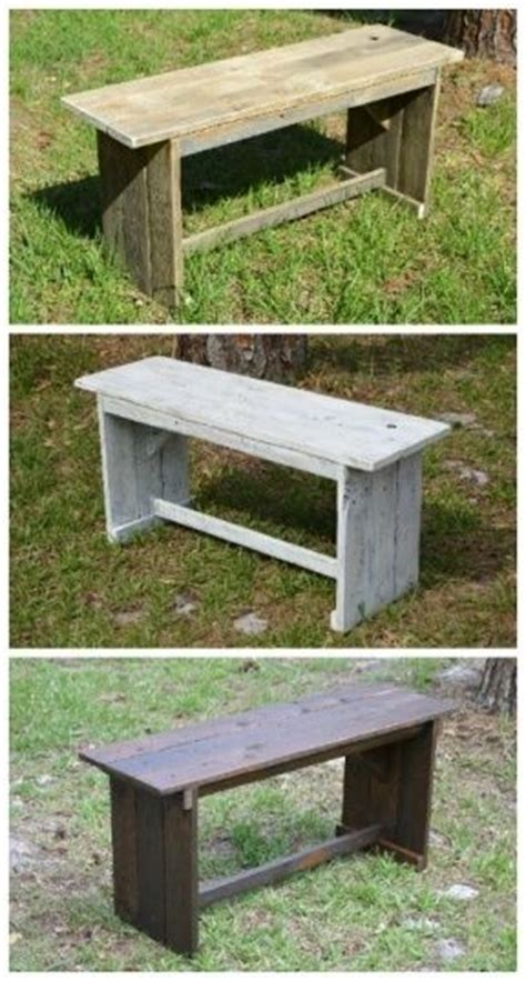 rustic pallet bench pinterest the world s catalog of ideas