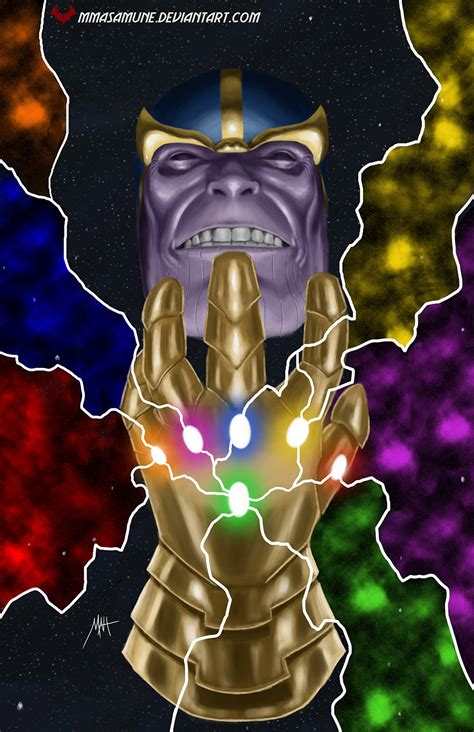the infinity gaunlet infinity gauntlet by mmasamun3 on deviantart