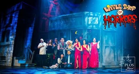 little shop of horrors musical wikipedia shlock rock horror musical little shop at plos stage